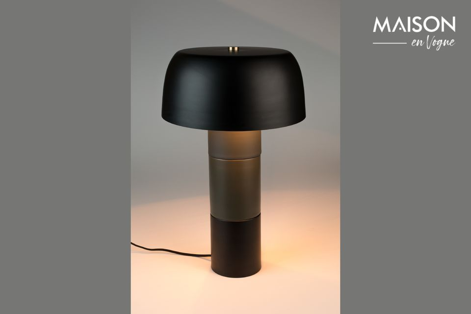 Lámpara de mesa Muras Tricolor Negro White Label