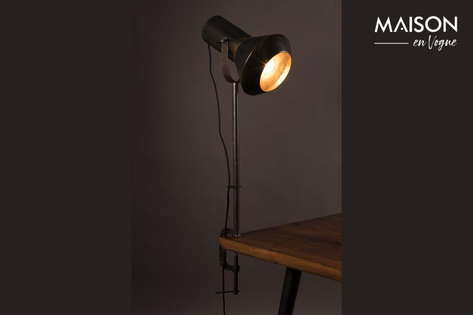 Lámpara de mesa negra Vox - 5