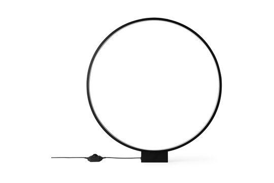 Lámpara de mesa redonda Collat Clipped