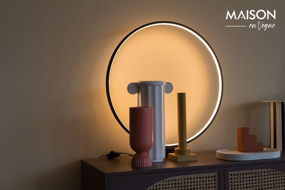 Tanto decorativo como utilitario, este accesorio tiene un diseño muy inusual