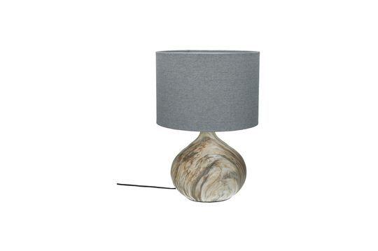 Lámpara de mesa Snooz de cerámica Clipped