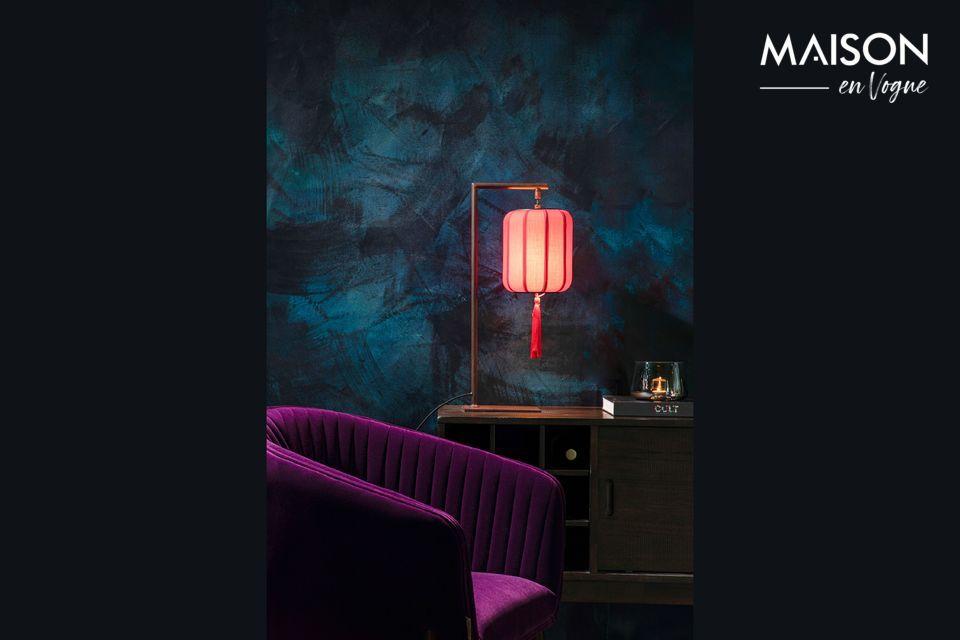 Para dar a su sala de estar una atmósfera única, las lámparas son un activo esencial