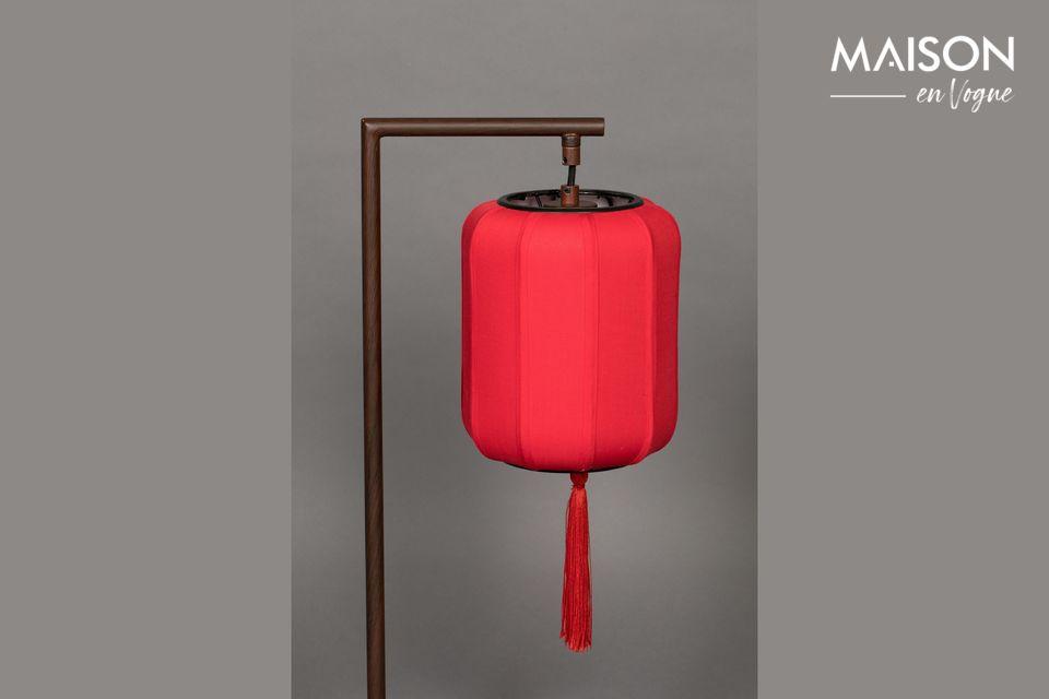 Lámpara de mesa Suoni rojo - 5