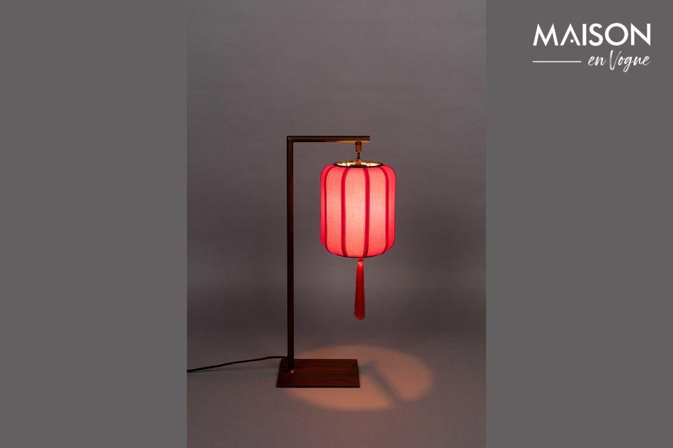 Lámpara de mesa Suoni rojo - 6