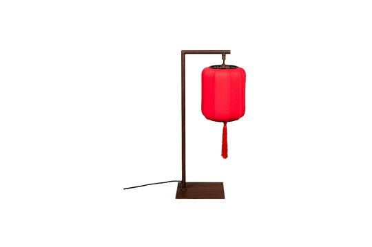 Lámpara de mesa Suoni rojo Clipped