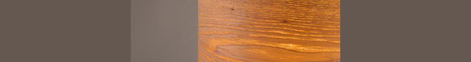 Descriptivo Materiales  Lámpara de mesa Woodland