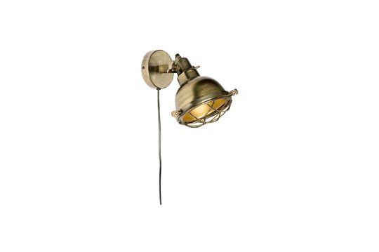 Lámpara de pared de bronce Evan Clipped
