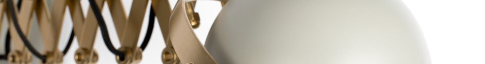 Descriptivo Materiales  Lámpara de pared gris Sarana