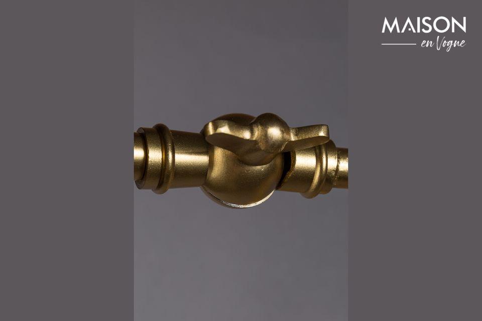 La forma original del difusor da un toque muy estético al conjunto y proporciona una excelente