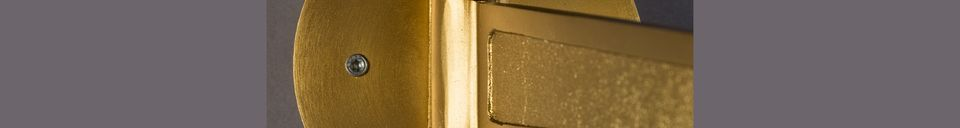 Descriptivo Materiales  Lámpara de pared Lily