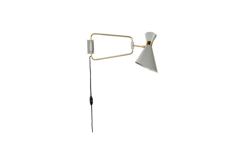 Lámpara de pared Shady gris - 7