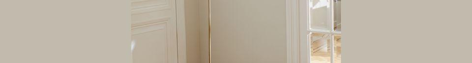 Descriptivo Materiales  Lámpara de pie Suzette