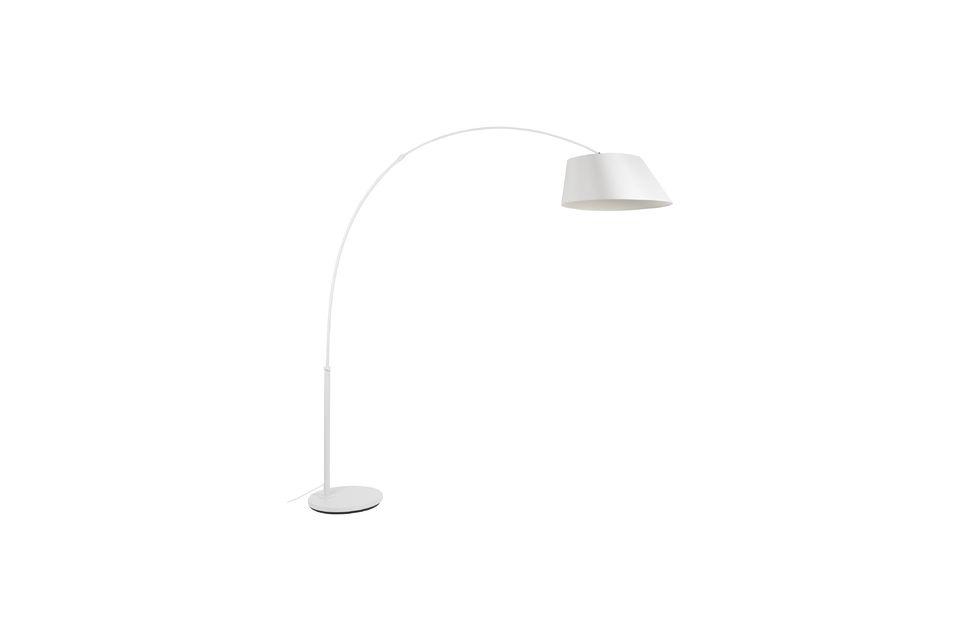 Lámpara de piso Arc blanco Zuiver