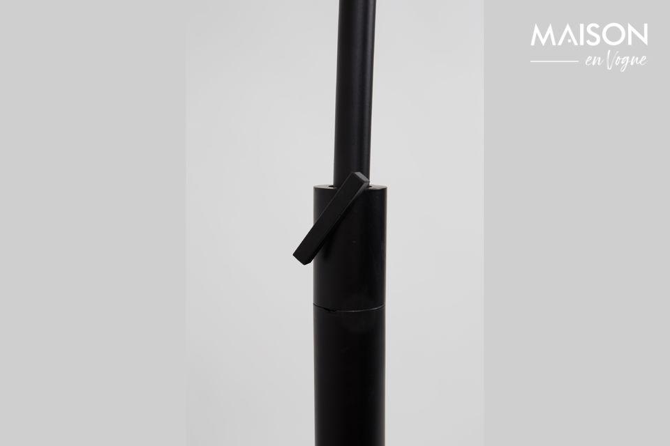 Lámpara de piso Arc negro - 3