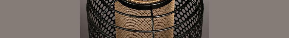 Descriptivo Materiales  Lámpara de piso Archer tamaño L