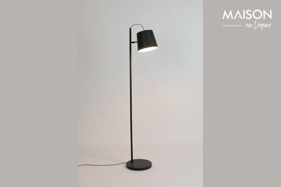 Lámpara de piso Buckle Head negro Zuiver