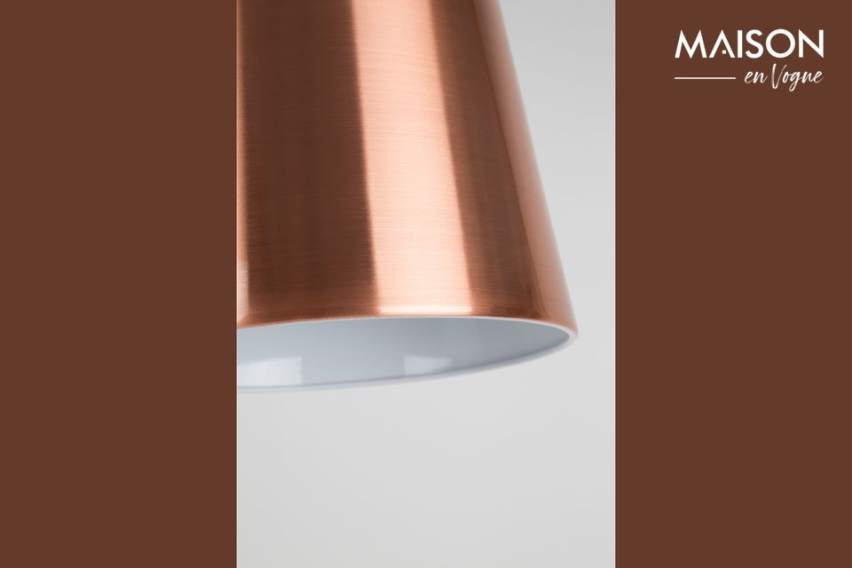 Lámpara de piso de cobreBuckle Head - 7