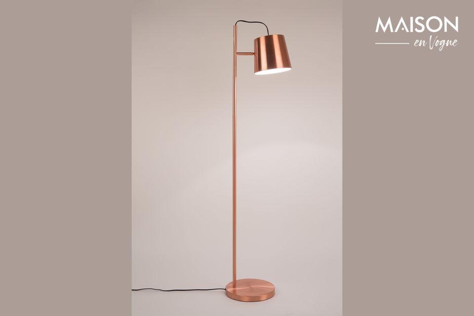 Lámpara de piso de cobreBuckle Head Zuiver