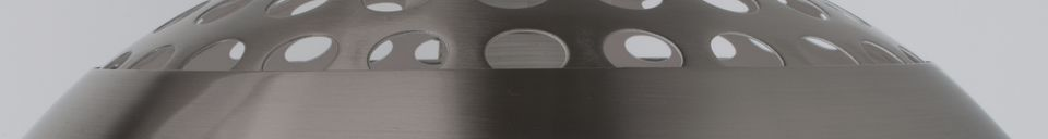 Descriptivo Materiales  Lámpara de piso de metal Bow