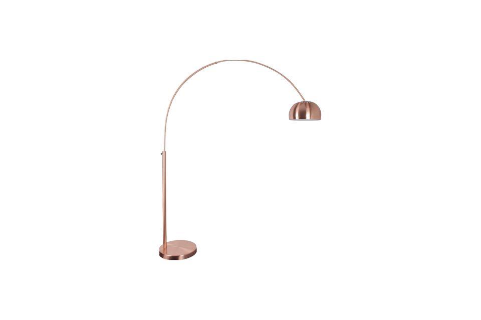 Lámpara de piso de metal Bow - 7