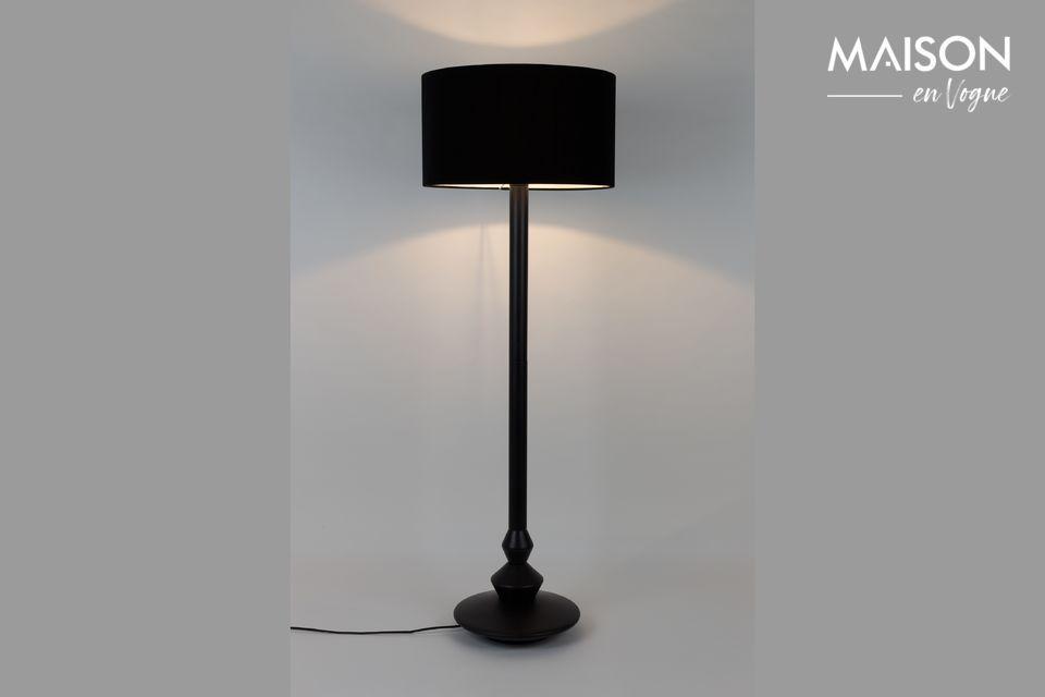 Lámpara de piso Finlay negro Zuiver