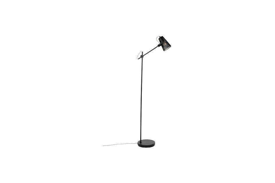 Lámpara de piso Fokus negro - 6