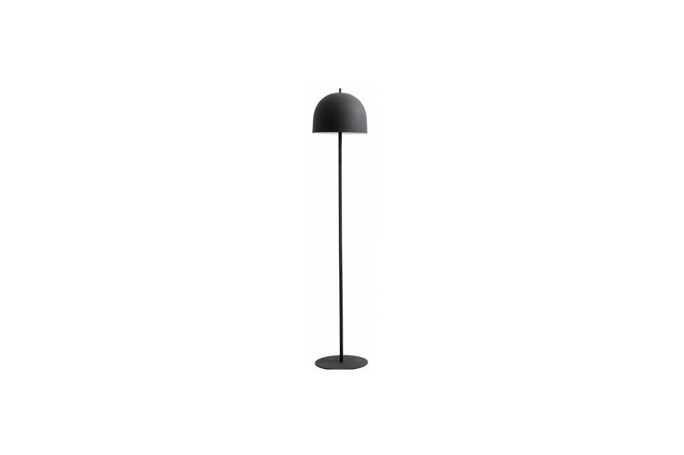 Lámpara de piso Glow 146 cm Negro mate Nordal