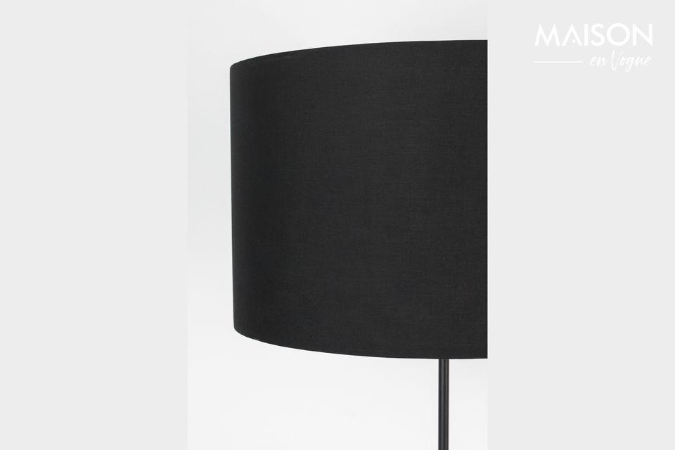 Lámpara de piso Lesley negro - 3