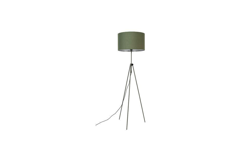 Lámpara de piso Lesley verde - 5
