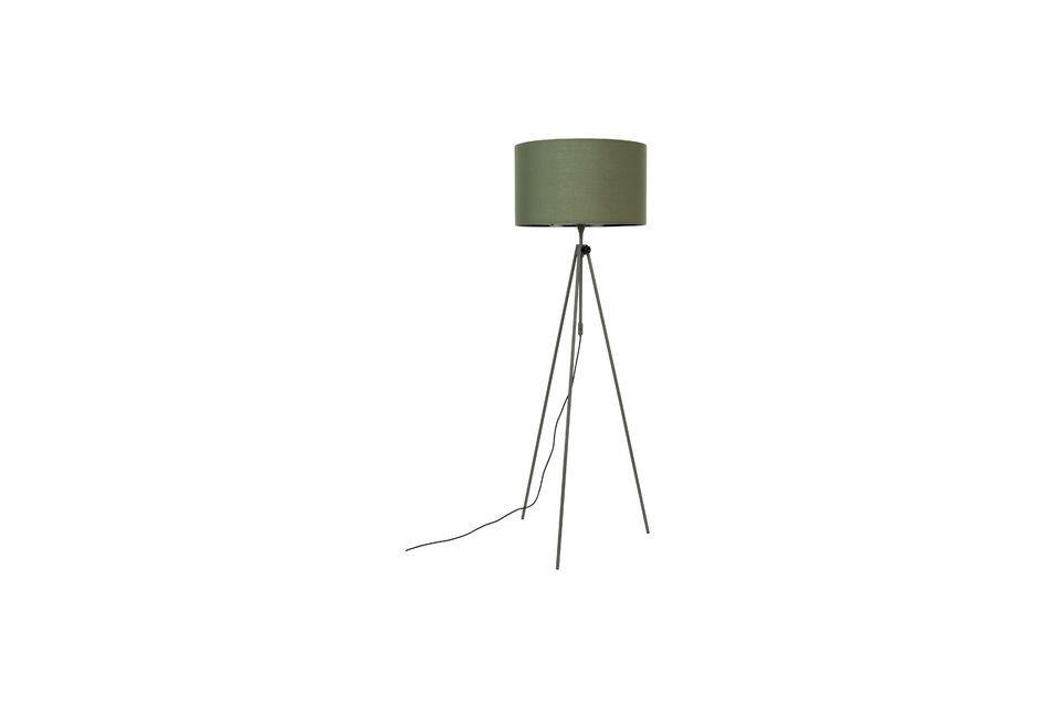 Lámpara de piso Lesley verde Zuiver