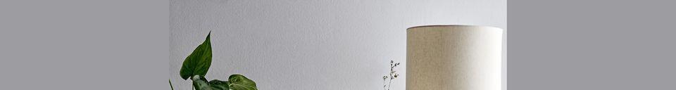 Descriptivo Materiales  Lámpara de piso Orignac