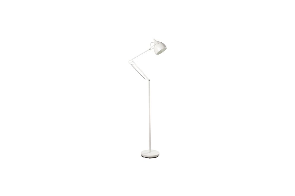 Lámpara de piso Reader blanco mate - 9