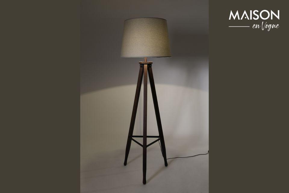 Lámpara de piso Rif Dutch Bone