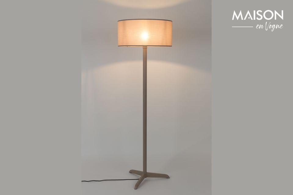 Lámpara de piso Shelby Taupe Zuiver