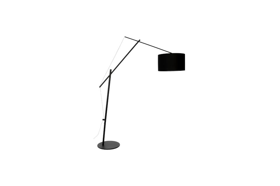 Lámpara de piso Tokio negro - 8