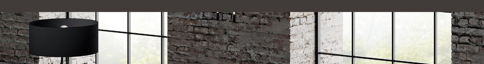 Descriptivo Materiales  Lámpara del piso 3 niveles Stackle
