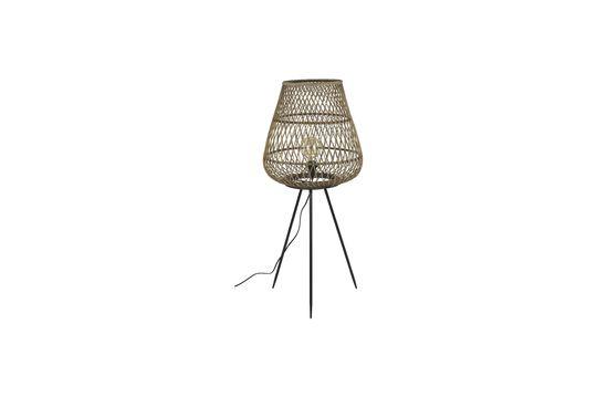 Lámpara Tao de bambú trenzado Clipped