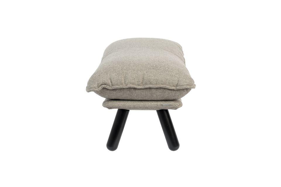 Lazy Sack Pouf gris claro - 6