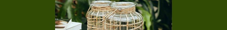 Descriptivo Materiales  Linterna Bambú