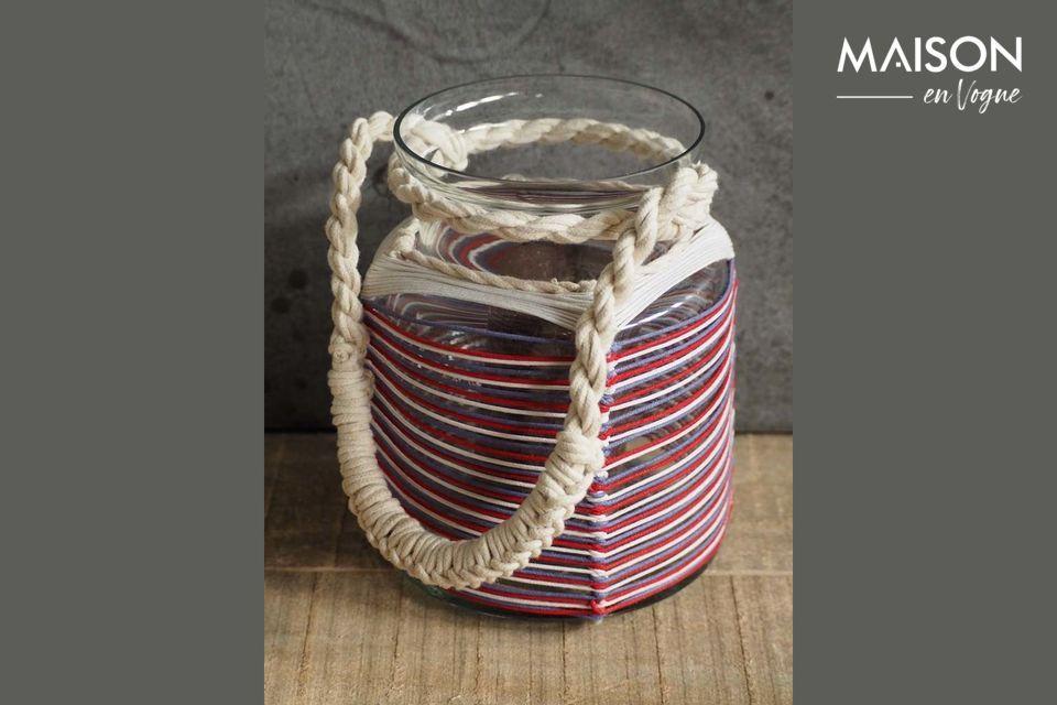 Linterna Thieux con hilos de algodón de colores Chehoma