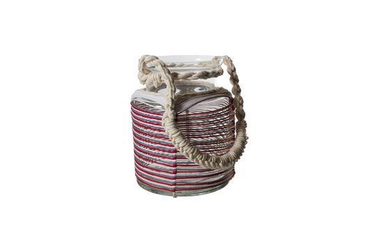 Linterna Thieux con hilos de algodón de colores