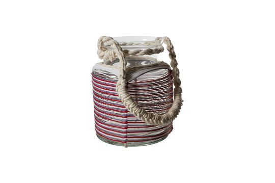 Linterna Thieux con hilos de algodón de colores Clipped