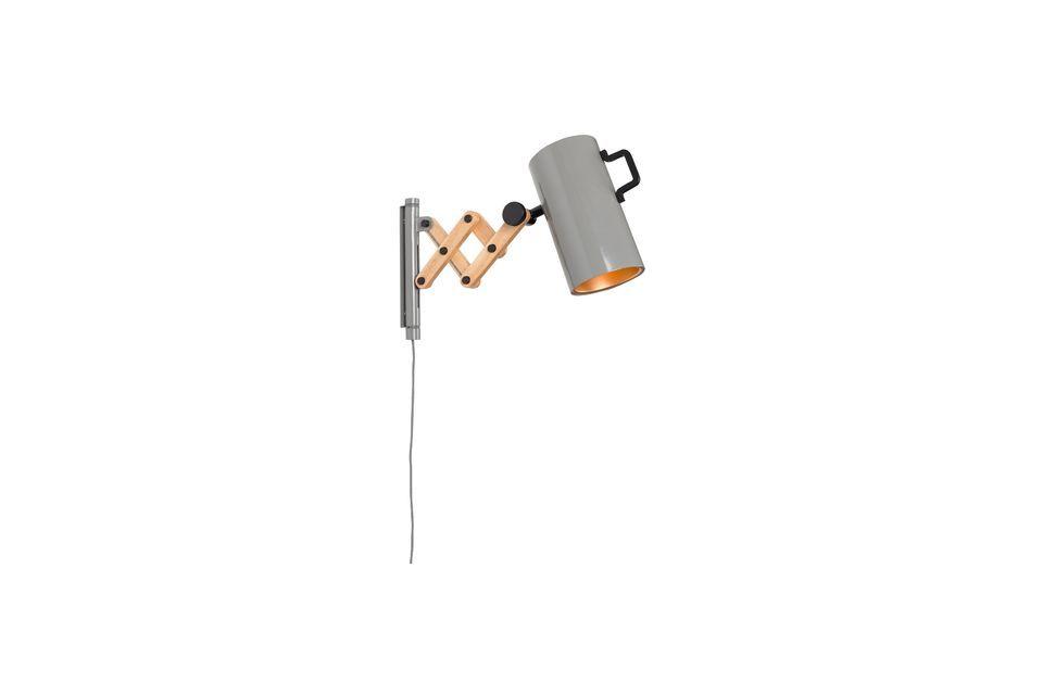 Luz de pared Flex gris - 7