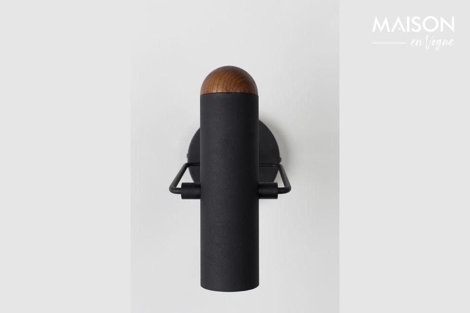 Luz de pared negra Marlon - 3