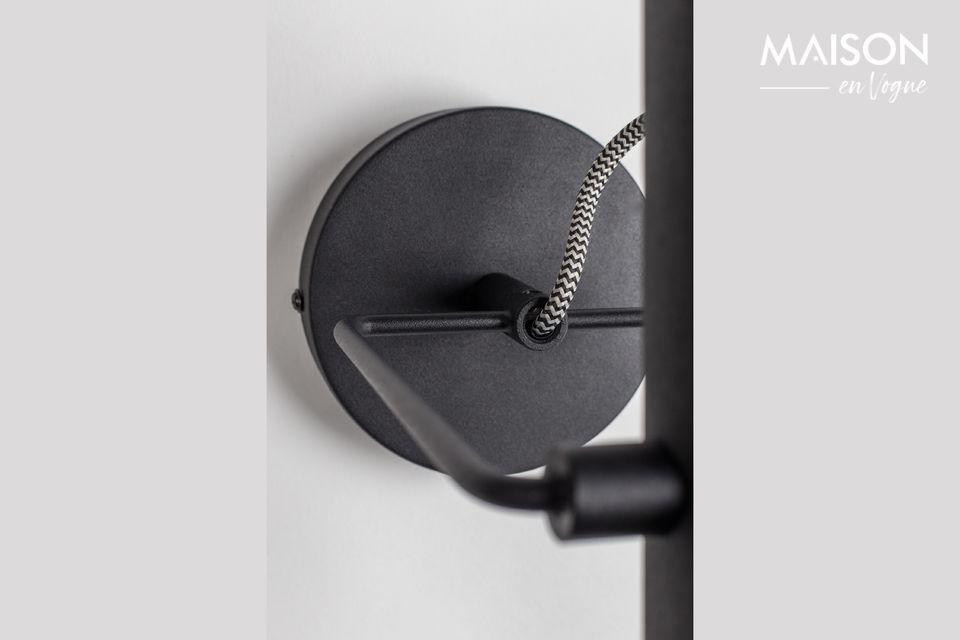 Luz de pared negra Marlon - 4