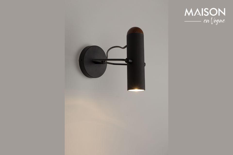 Luz de pared negra Marlon Zuiver