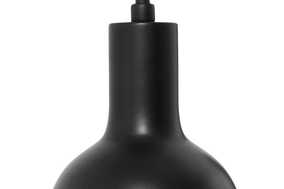 Luz de pared negra y lámpara a juego