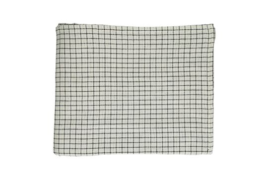 Mantel Checks & Stripes Clipped