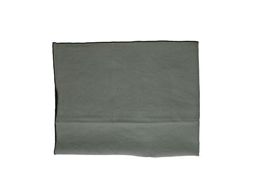 Mantel de lino y algodón