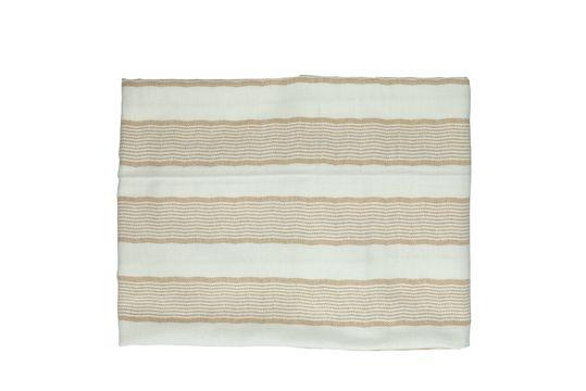 Mantel rectangular de algodón Tizia Clipped